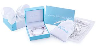 tiny blessings sterling silver baby children s bracelet